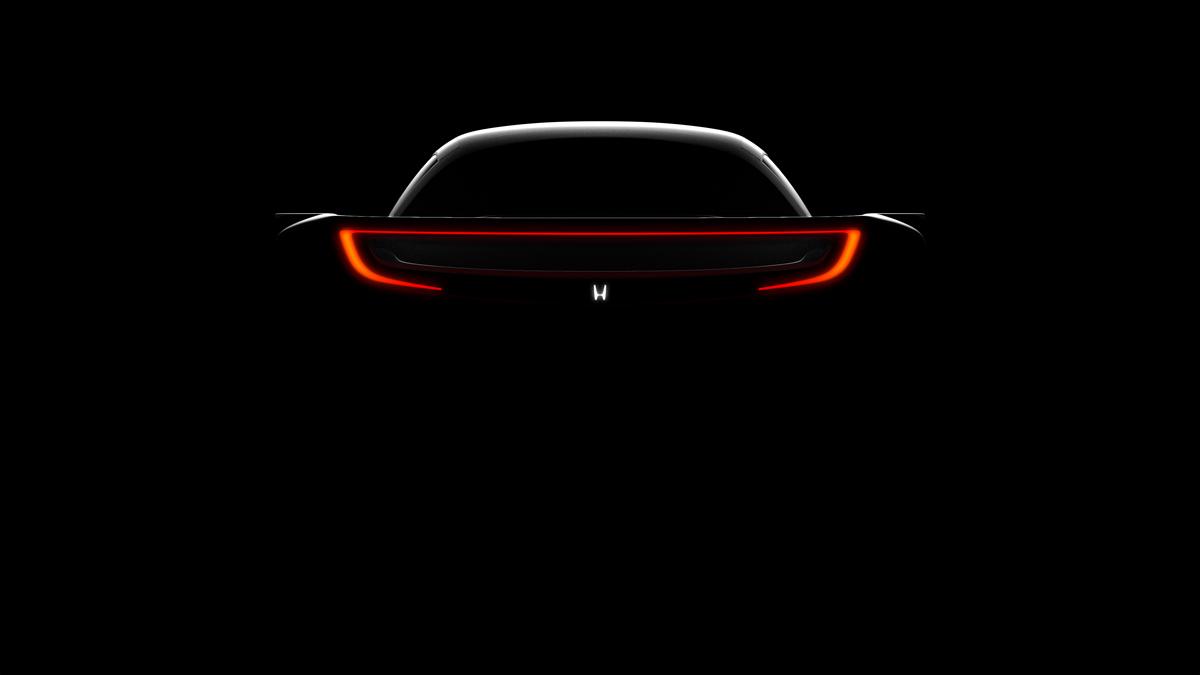 Honda nsx concept car Sportscar colorful Renders 3D art