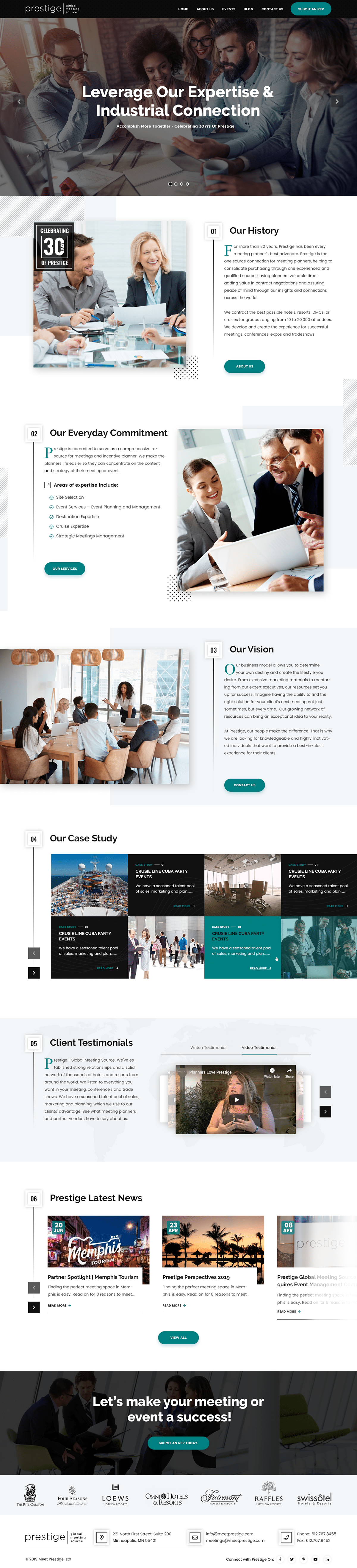 clean website Consultancy Design corporate creative website design landing page minimalist design modern website Professional website ui design