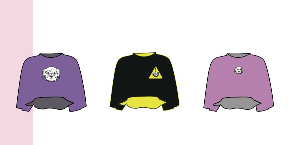 crop top tshirt design Fashion