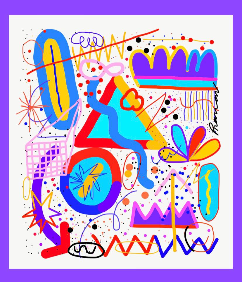 color ILLUSTRATION  pop
