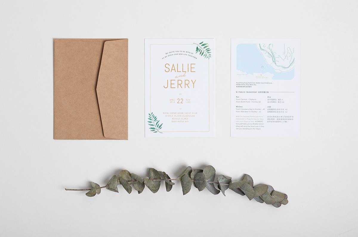 Invitation Card,wedding invitation,asian,print,graphic design ,wedding banquet,gold foil,Hong Kong,ILLUSTRATION
