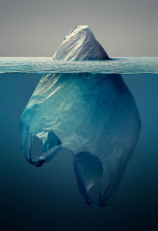 iceberg plastico Basura Plasticeberg