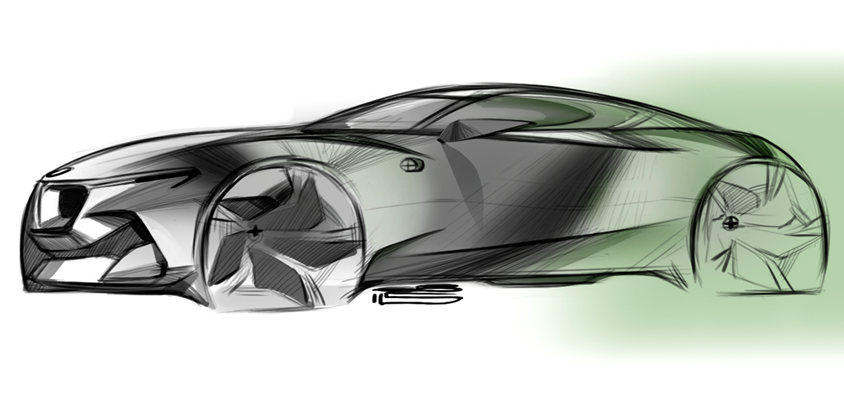 Car Design Sketches 6 On Behance