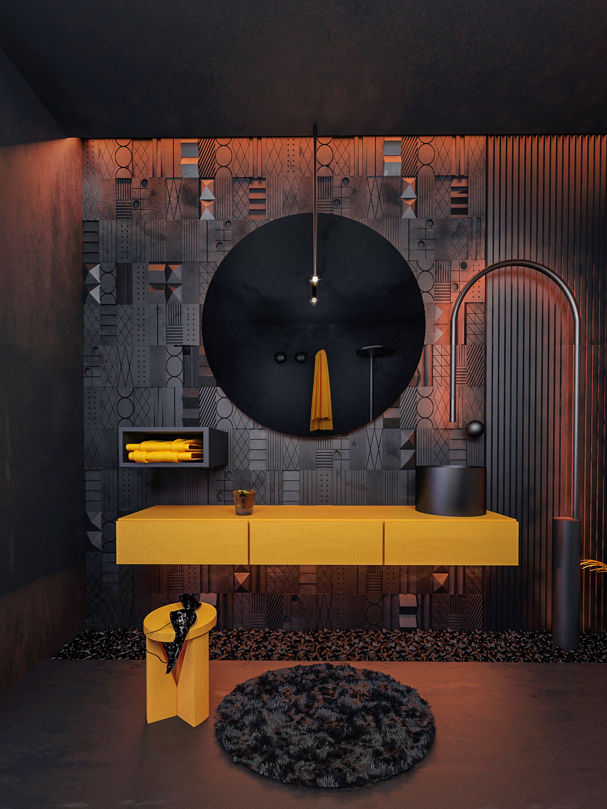 Image may contain: furniture and screenshot