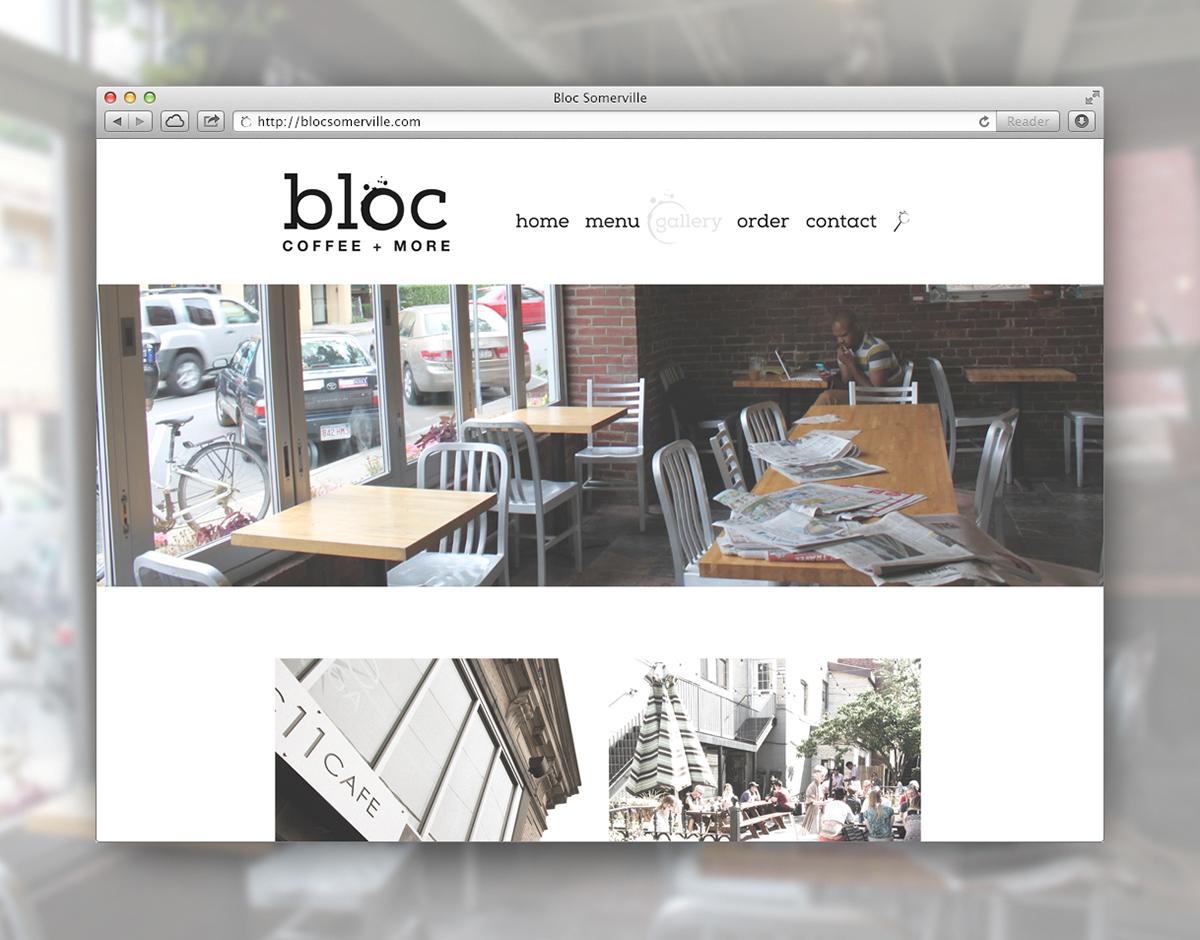 Web Design  Web Coffee coffeeshop coffee shop Somerville Bloc