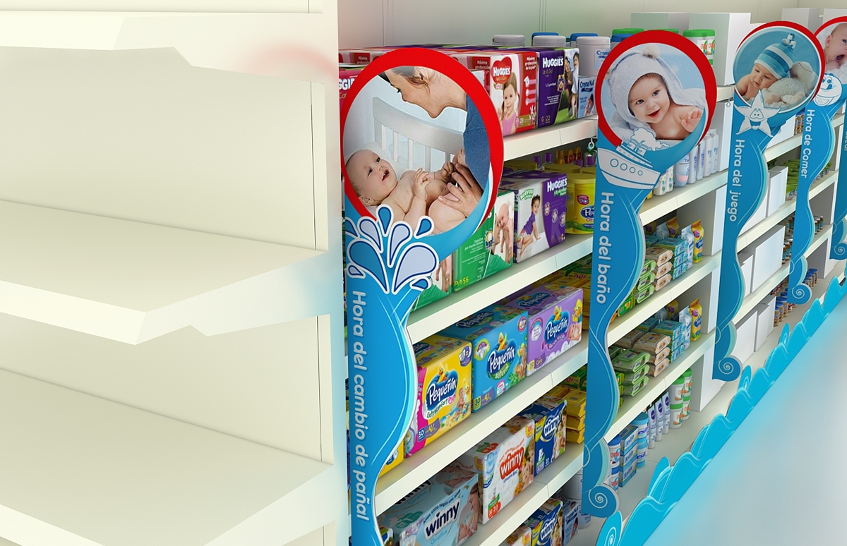 Lineal Huggies On Behance # Muebles Huggies