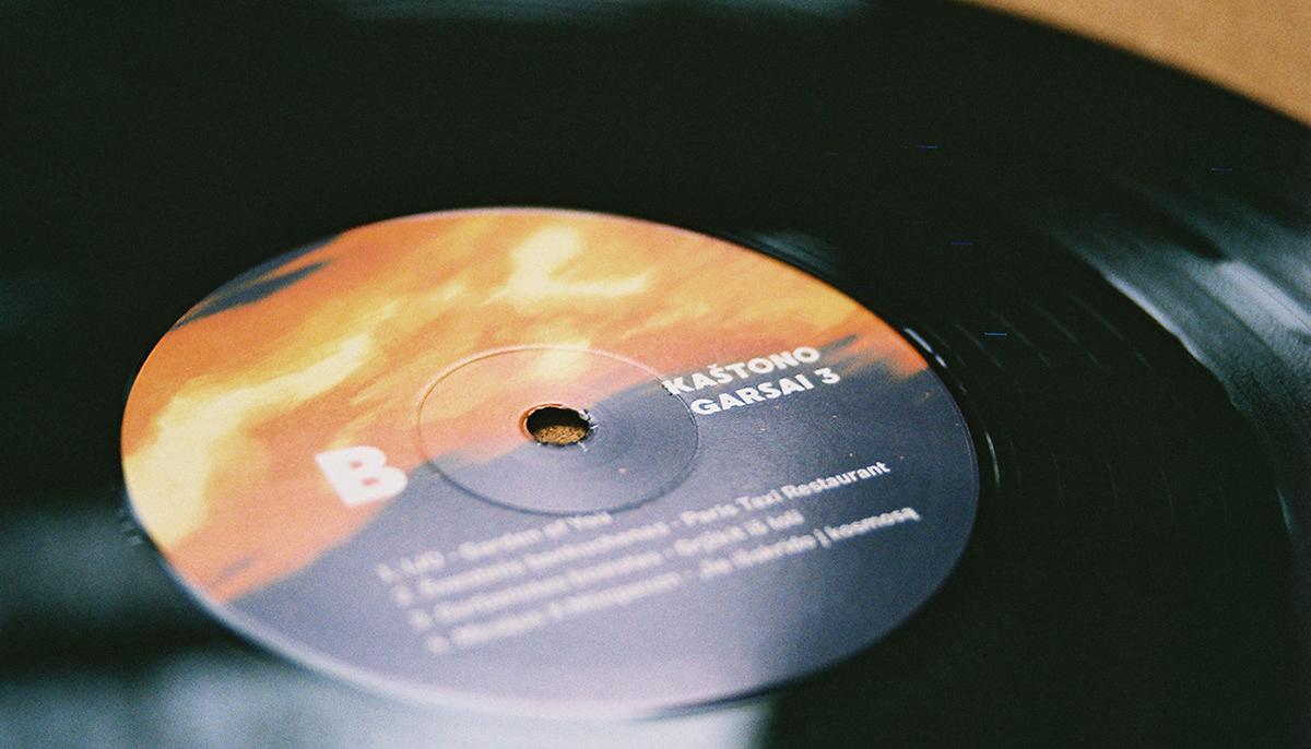 vinyl kaštonas chestnut klaipeda nida bar venue lithuania 12' LP record package LP Seaside