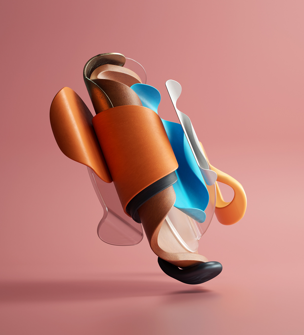 3D design modern cinema4d curves inspiration bold octane graphic design  ILLUSTRATION