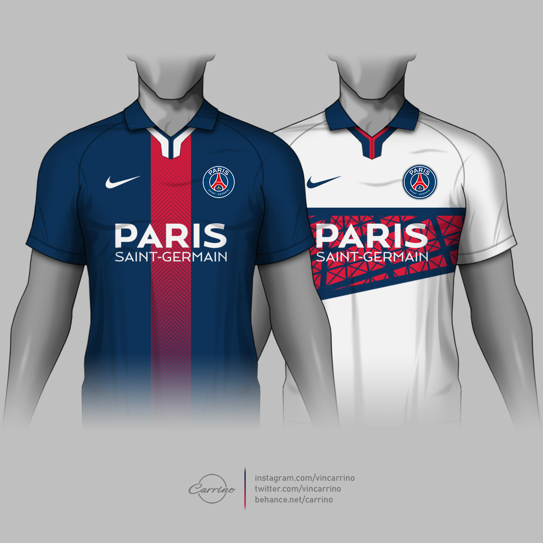 Psg Kit Concepts On Behance