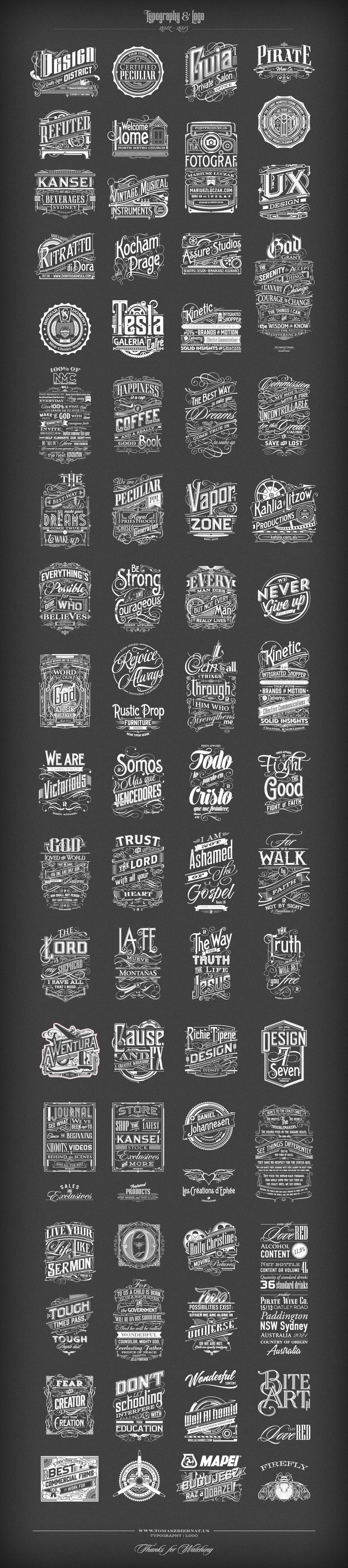 typografia type apparel logo logos custom apparel inspiration design tomasz biernat poster tshirt inspirational quotes verses home decor