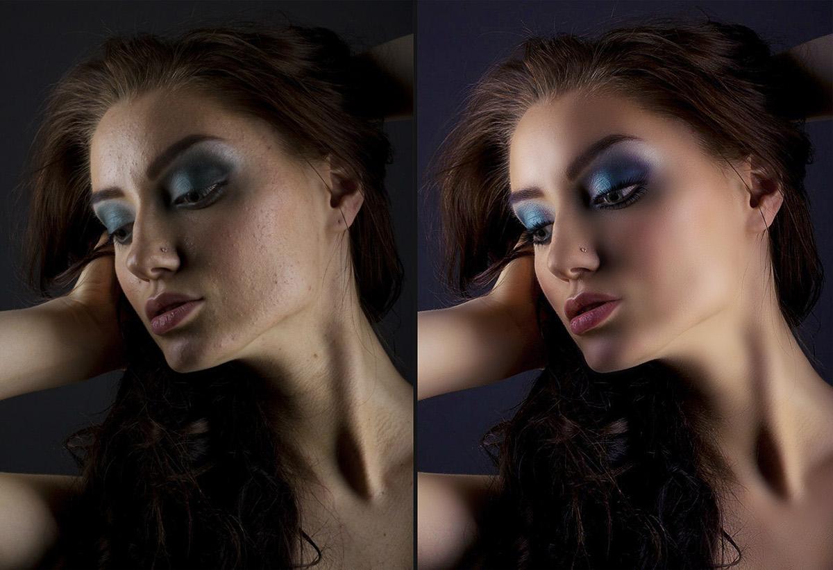 выйдя проф обработка фотографии пошагово лицо поставить нормальные тормозные