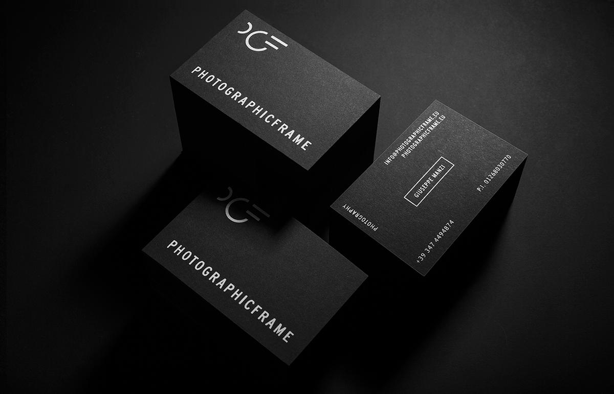 photographer corporateidentity logo black White Photography  photographer branding minimal monogram symbol