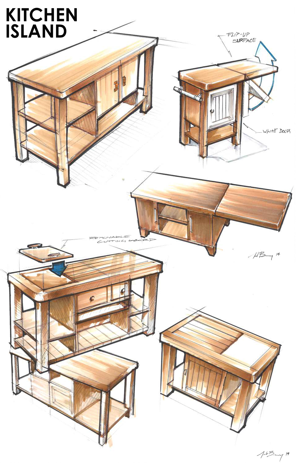 Qview full size coffee table ideation sketches design a table design sketches geotapseo Gallery