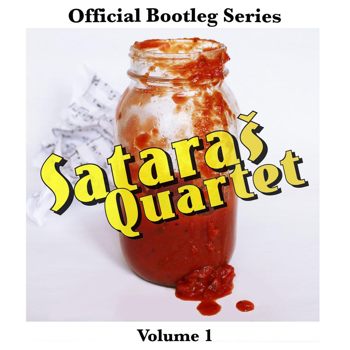Album artwork by Colin Bragg for Sataras quartet