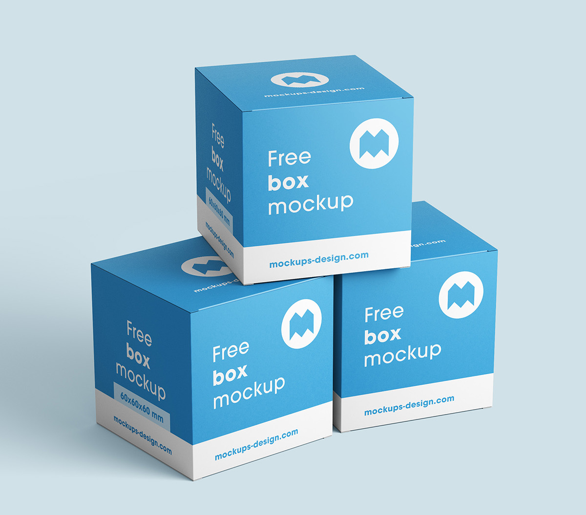 free box mockup on behance