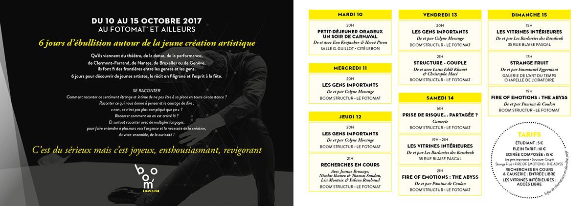 festival arts vivants Minimalisme clermont-ferrand