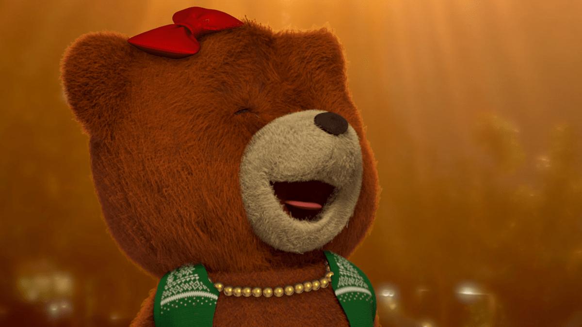 Image may contain: bear, teddy and cartoon