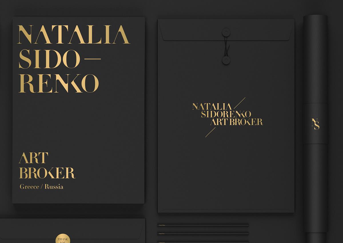logo Logotype gold foil custom tyrpography identity art artbroker natalia sidorenko angel botsis stit creative stit stit studio athens elegant custom typography