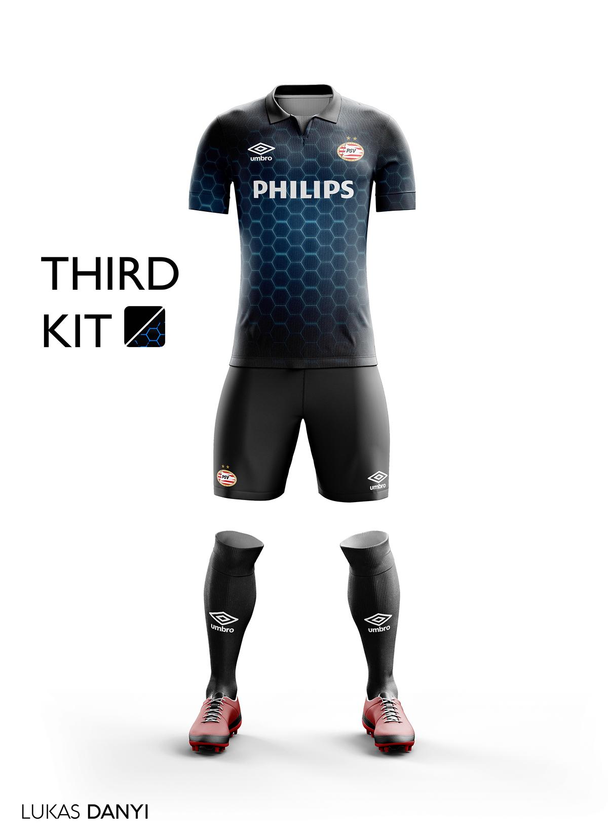 Psv Football Kit 16 17 On Behance