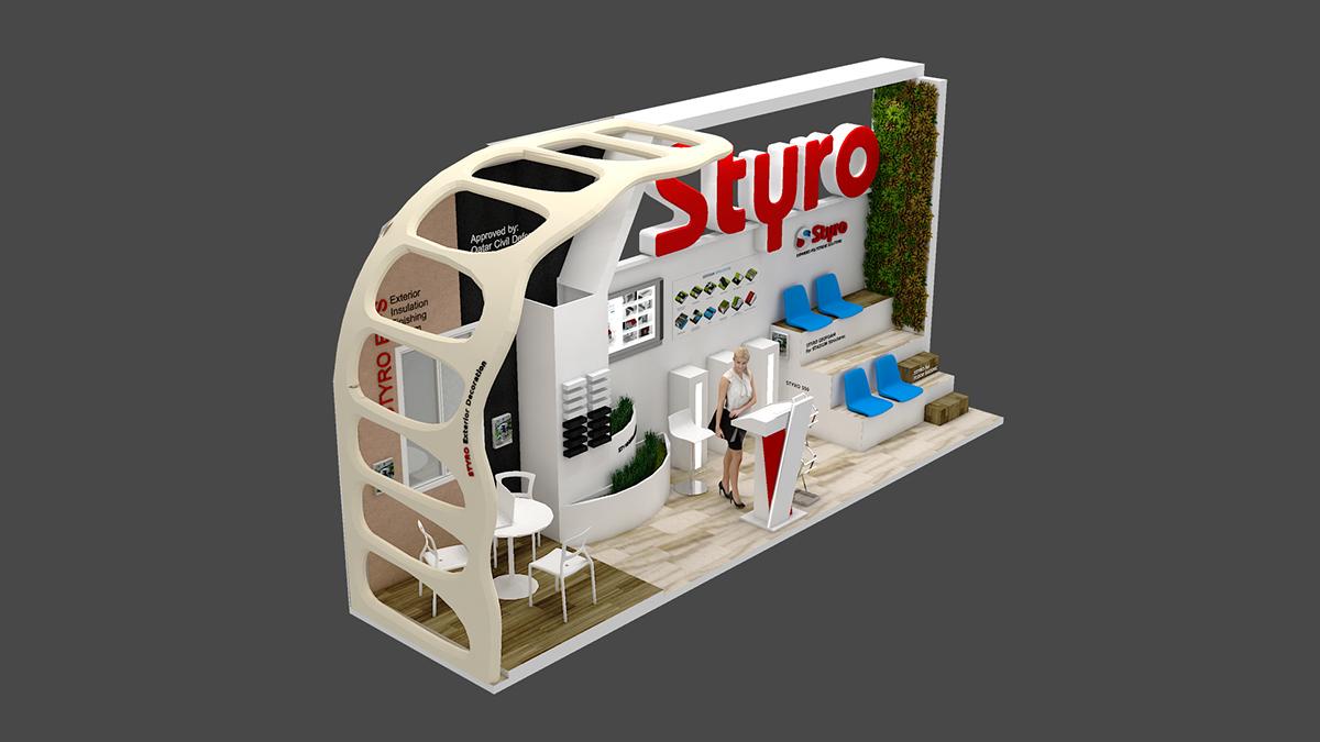 D Exhibition Designer Jobs In Qatar : Styro exhibition design for project qatar on aiga member
