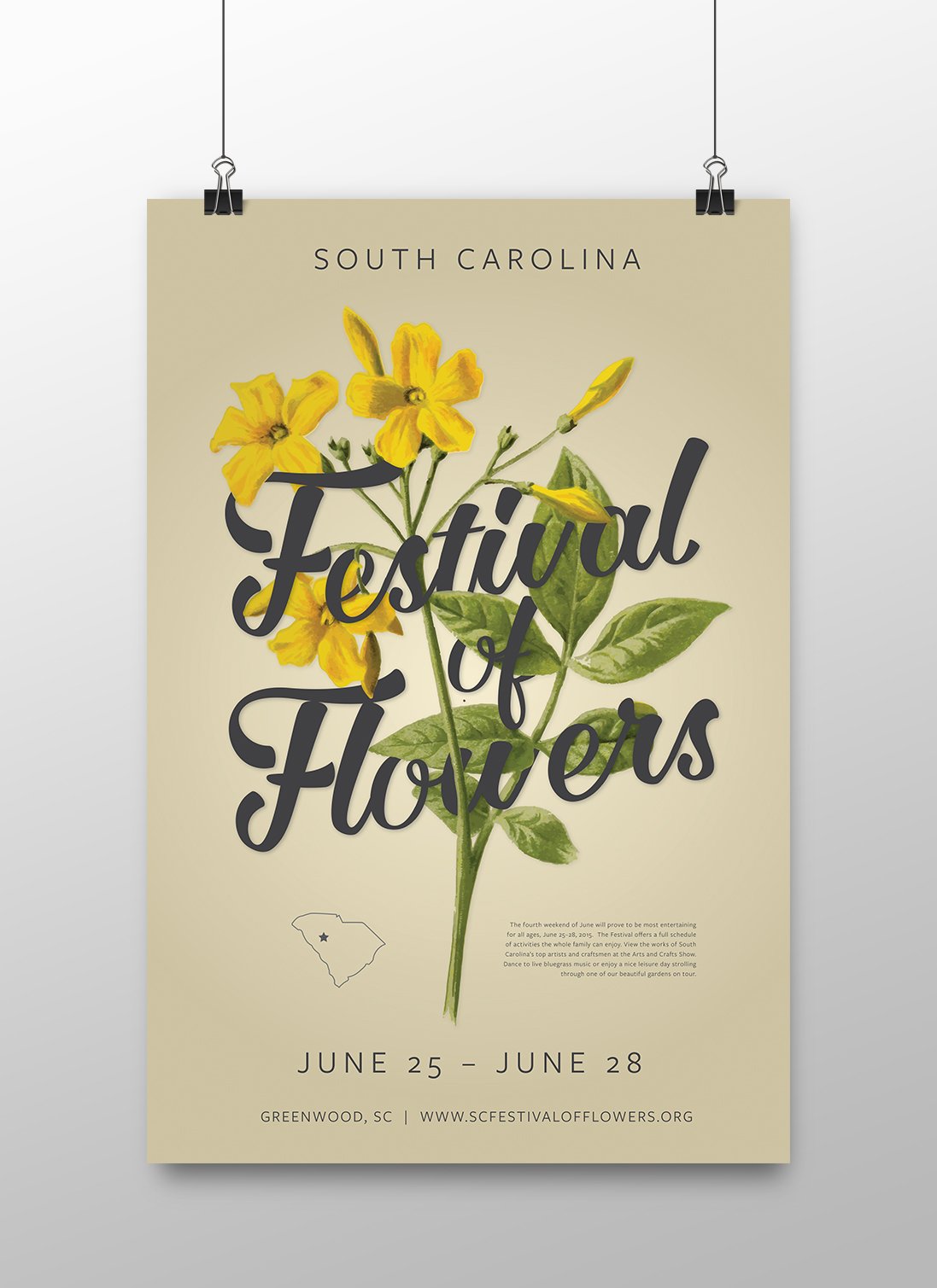 South Carolina Festival Of Flowers On Behance