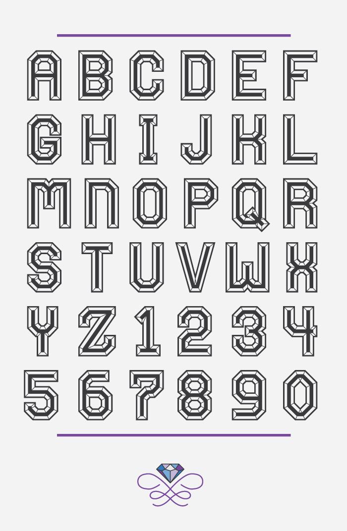 Hey Nick Moore Typeface diamond