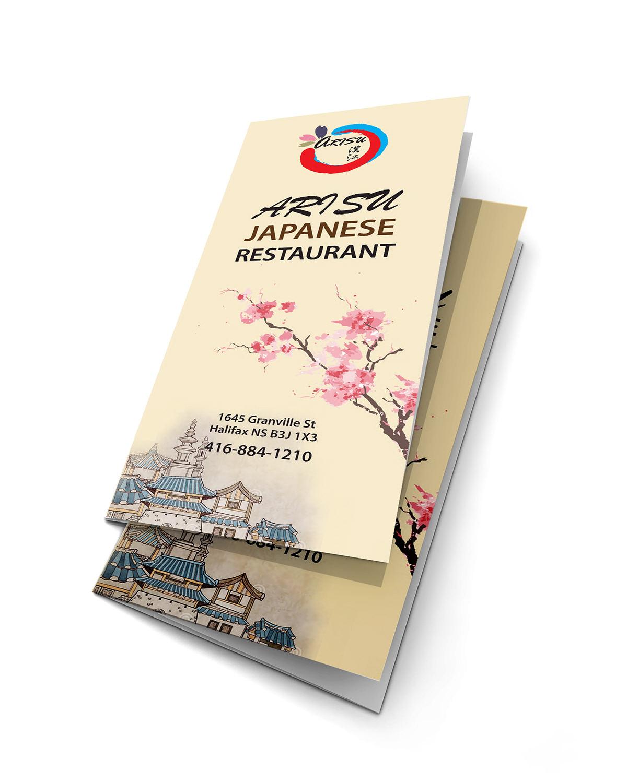 restaurant menu booklet design on behance
