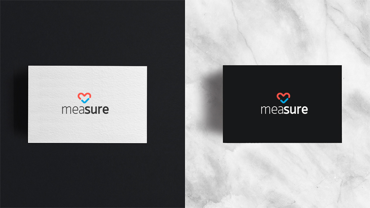 Logo design for Measure - iOS & Android app on Behance