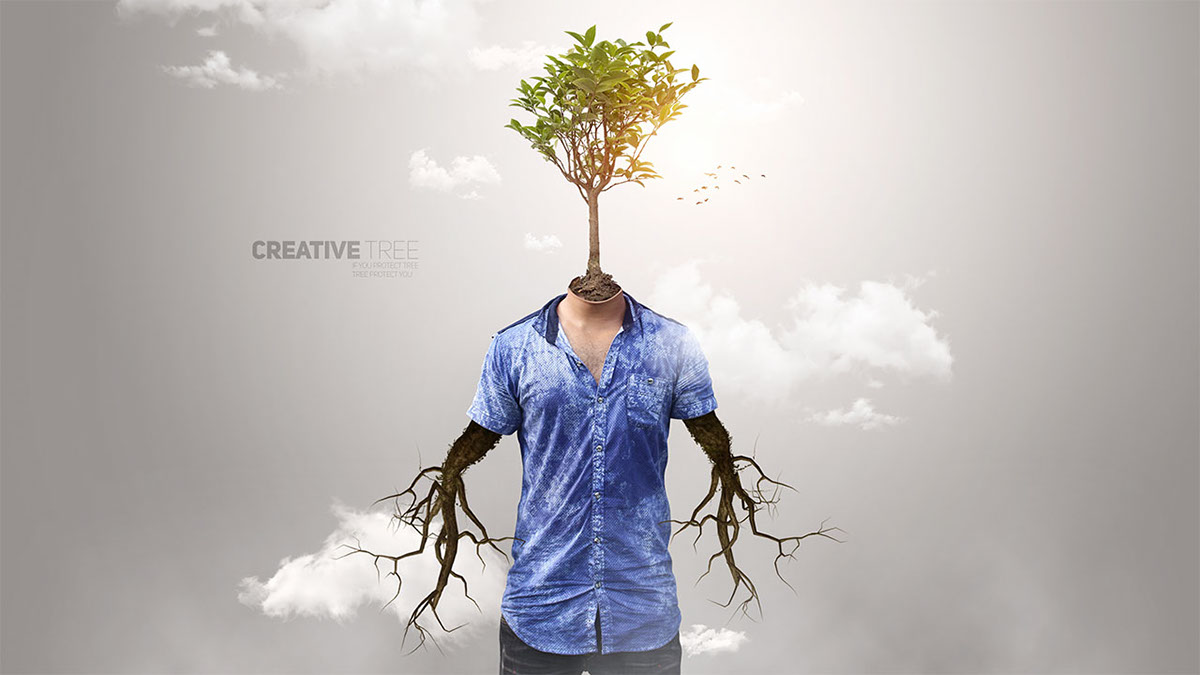 surreal photo manipulation in photoshop cc on behance