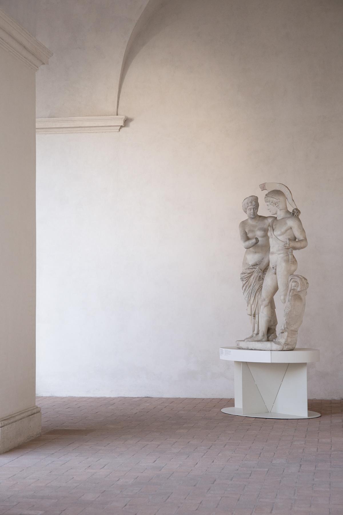 Dario Ruggiero museo nazionale romano Terme di Diocleziano Photography  archaeology statue architecture Rome