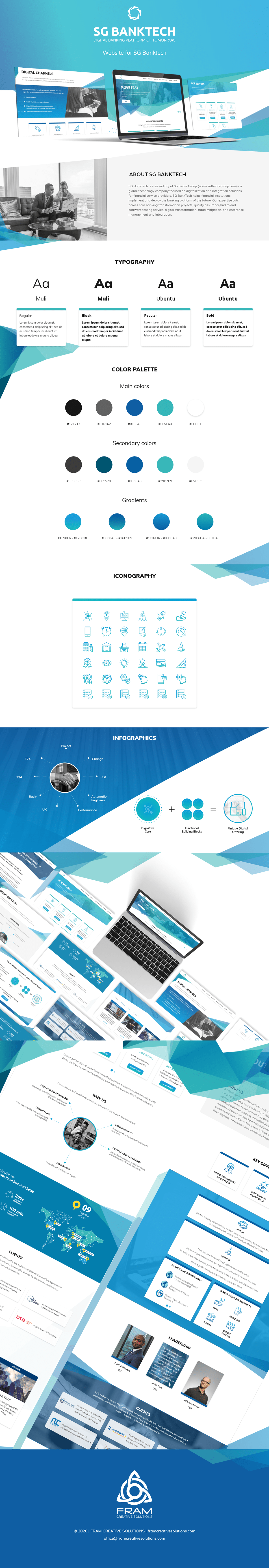branding  UI ux ux/ui Webdesign Website
