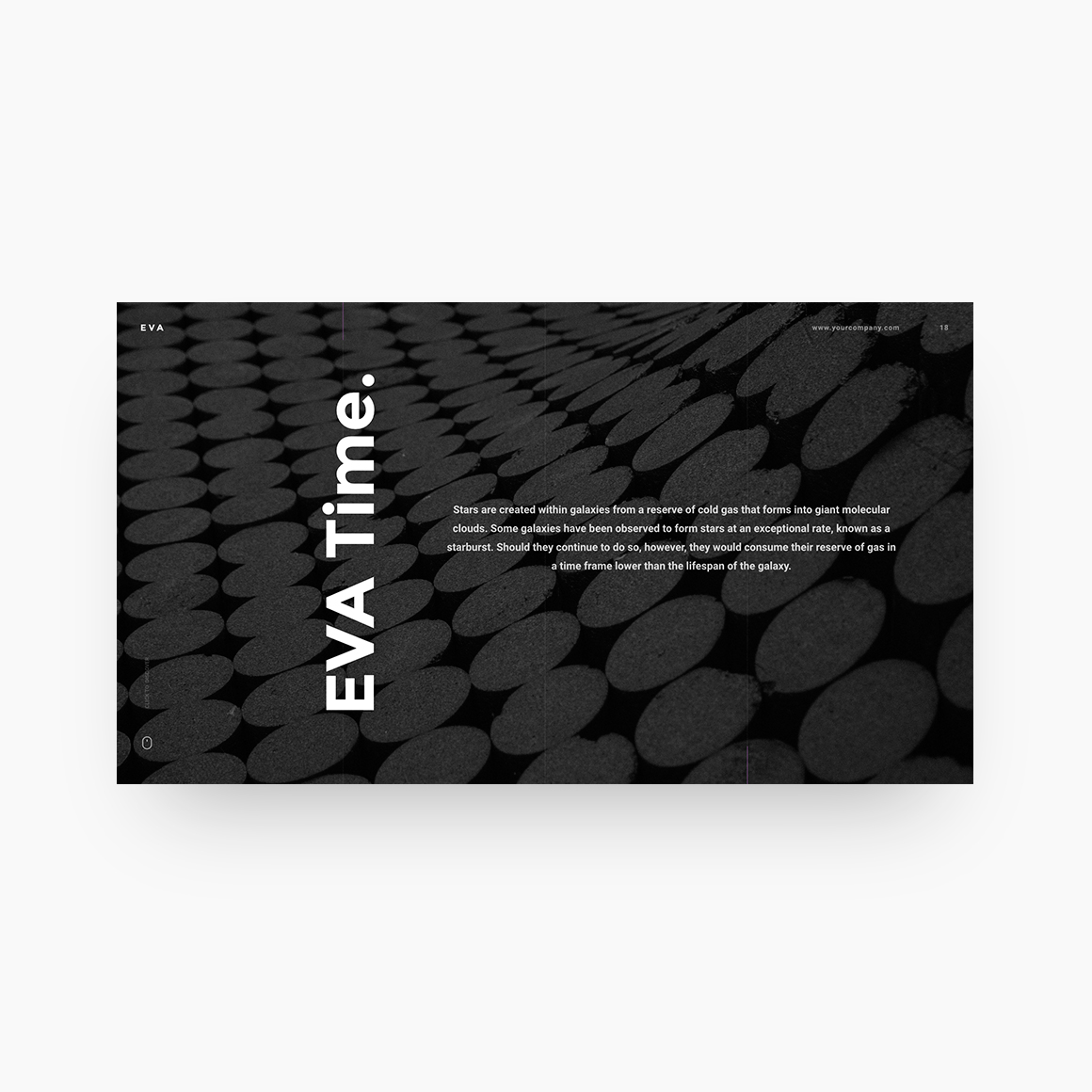 Eva free presentation template on behance preview video for eva powerpoint template toneelgroepblik Image collections