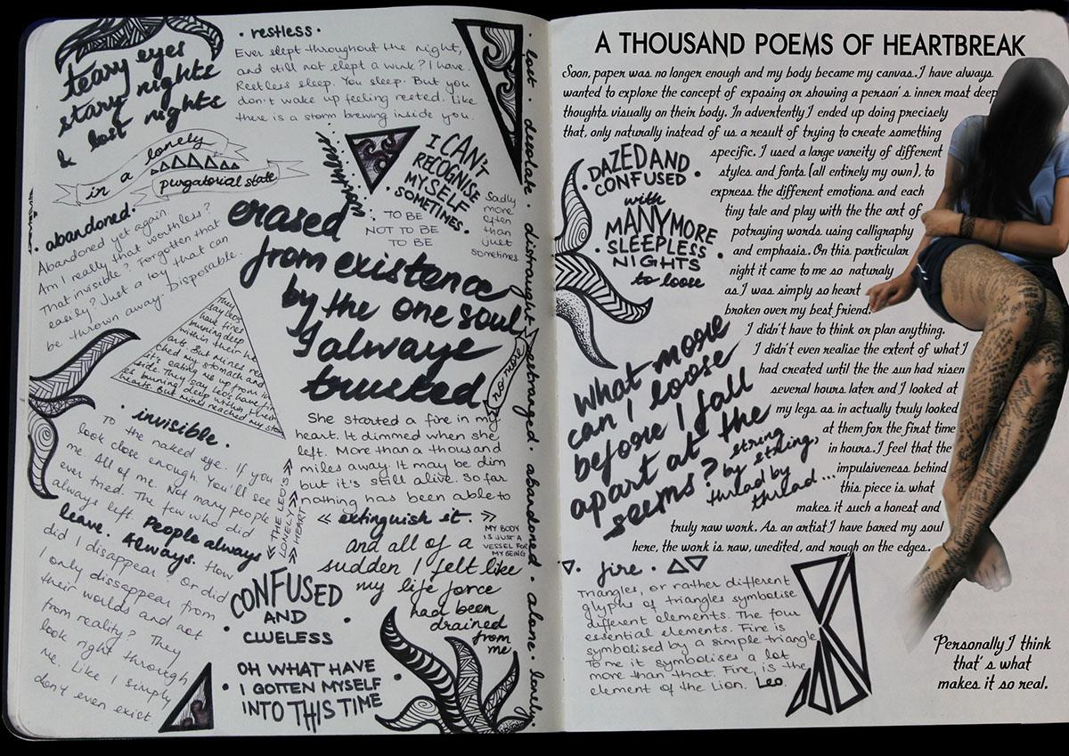 Thousand poems of heartbreak Ananya Behera