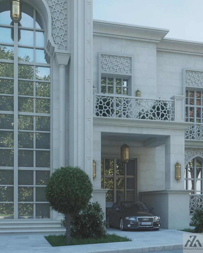 Quality Home Exteriors Design: Arabic Villa On Behance