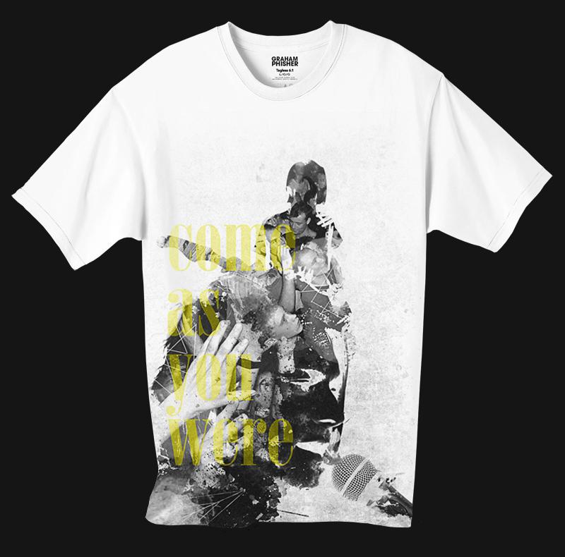 kurt cobain T-Shirt Design nirvana