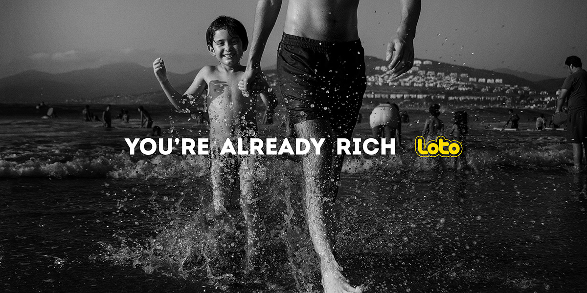 gambling loto luxury blackandwhite chile PollaChilena prolam Advertising  canneslions canneslions2018 craftlions outdoorcampaign
