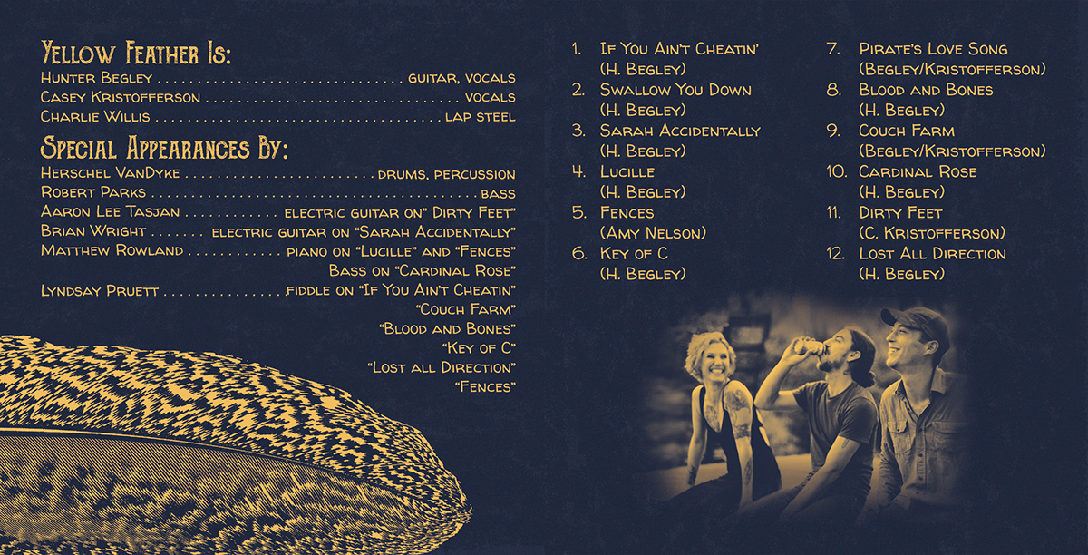 graphic design  music album art folk typography   native american