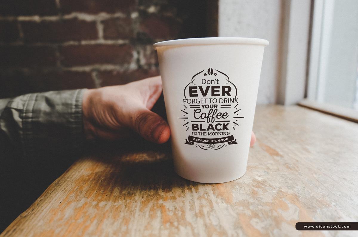 logo Mockup Coffee Cup Mockup Mockup free mockup  mockup psd mockup free branding  free freebie psd