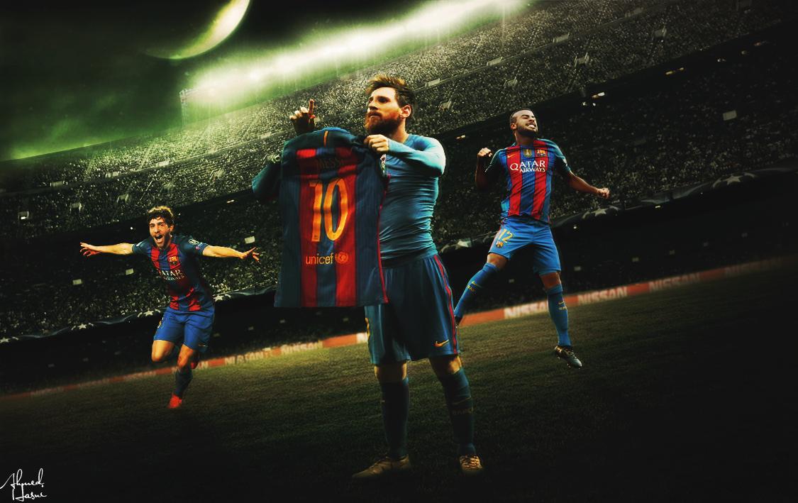FC Barcelona Wallpaper 2017 On Behance