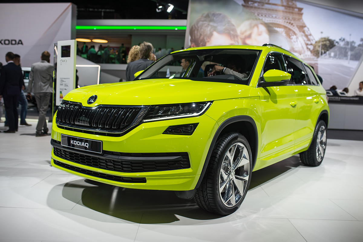 1d9baa3ae9530 Skoda Kodiaq - Paris 2016 / Skoda Auto on Behance