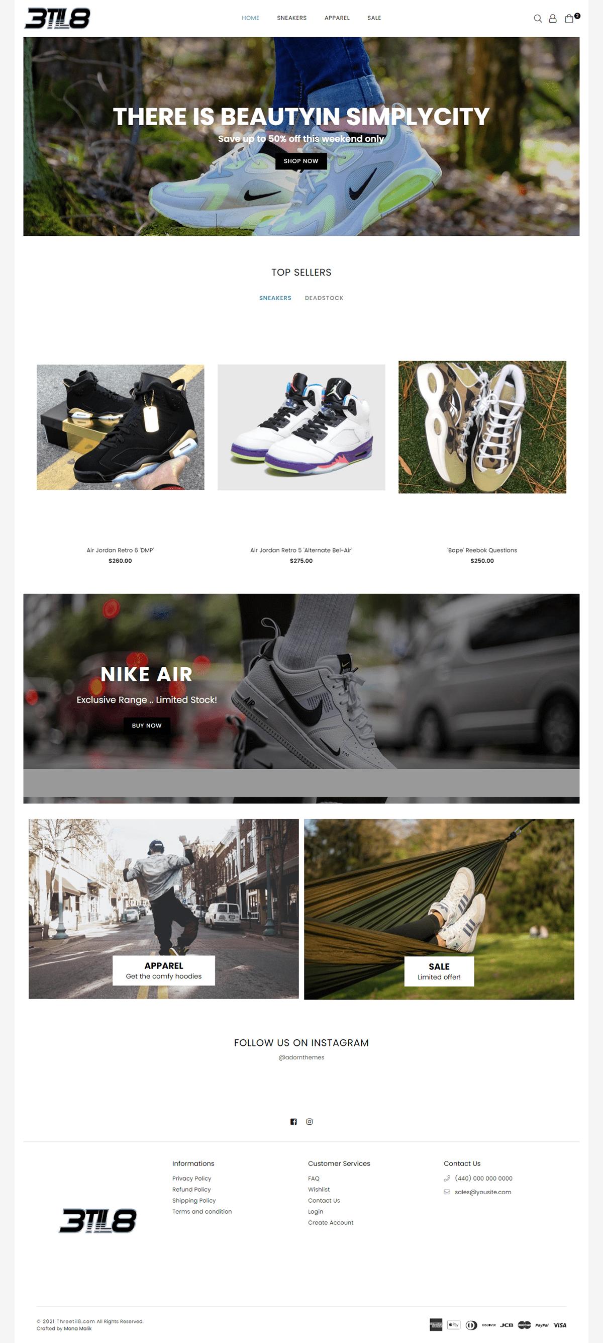 monawebdeveloper Shopify Web Design  Website