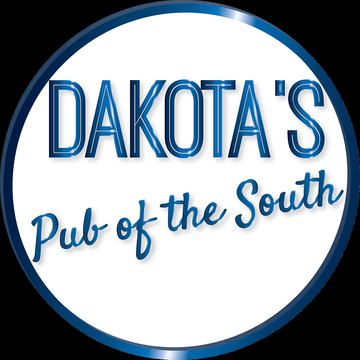restaurant metallic blue logo