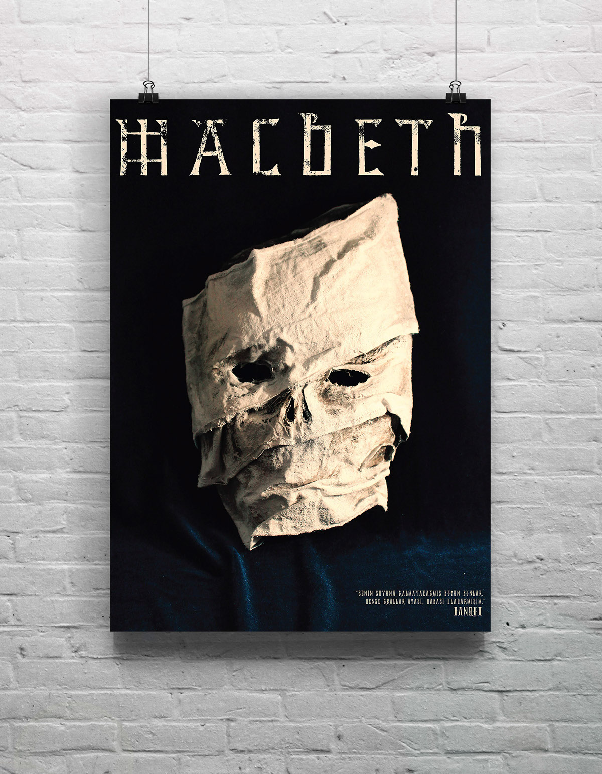 an analysis of the masks in macbeth An ancient fear was that a person who was not properly buried would have his bones picked clean by birds macbeth thinks that the dead ought to stay where they belong.