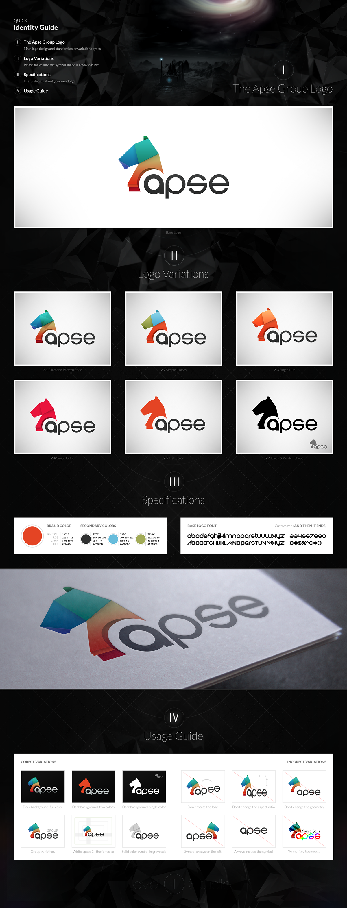 logo Corporate Identity Logo Design