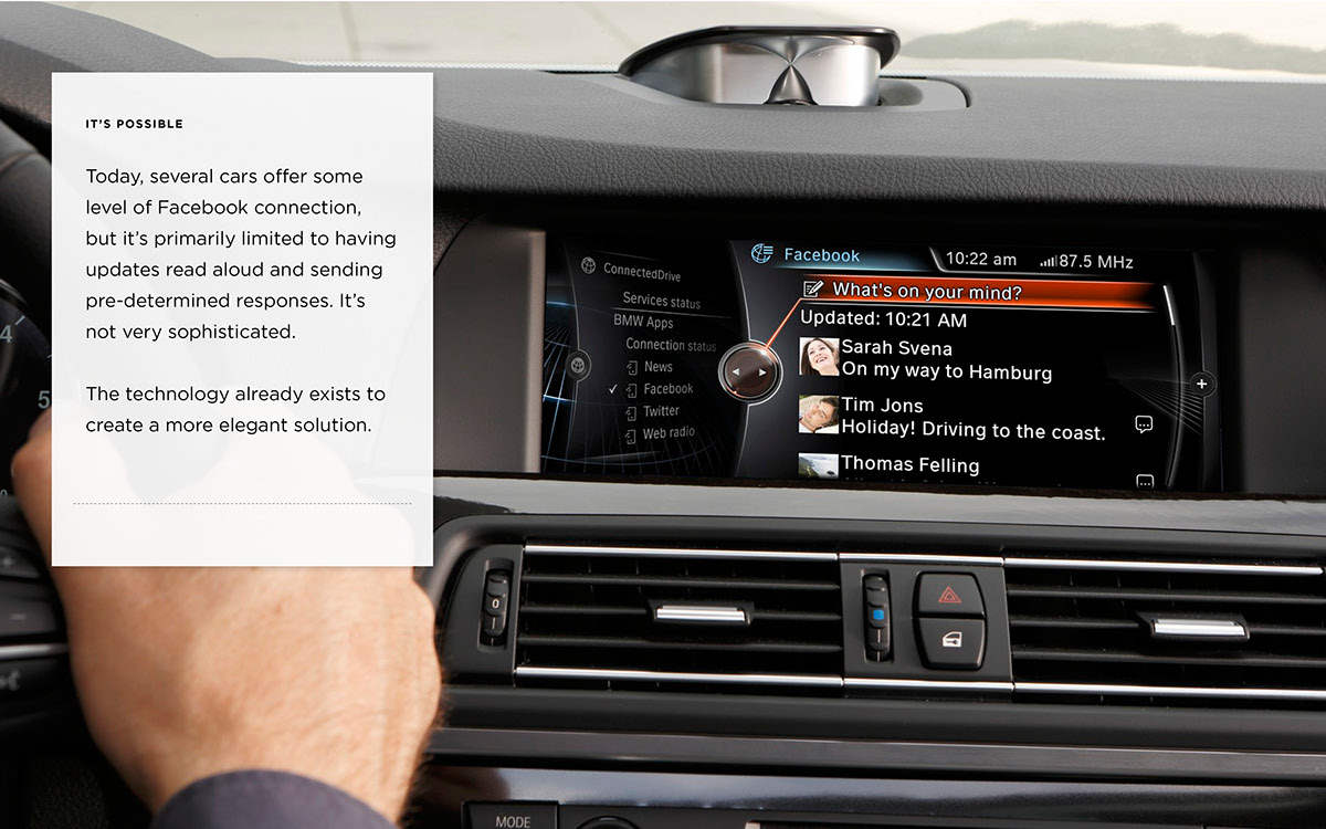 connected car user interface user experience