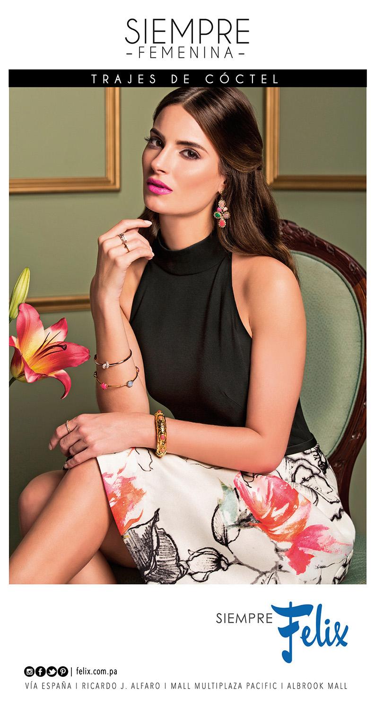 panama modelo moda decorados Campaña makeup hair