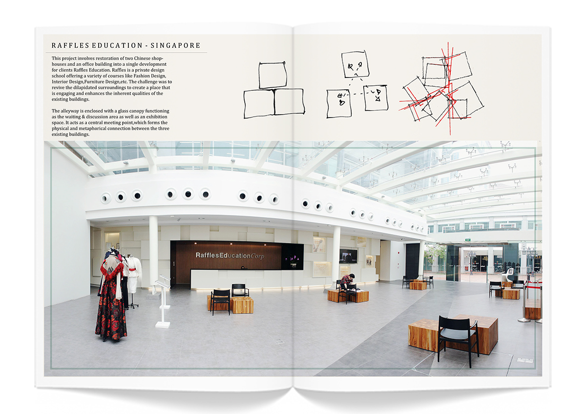 raffles education dp architects singapore on risd portfolios