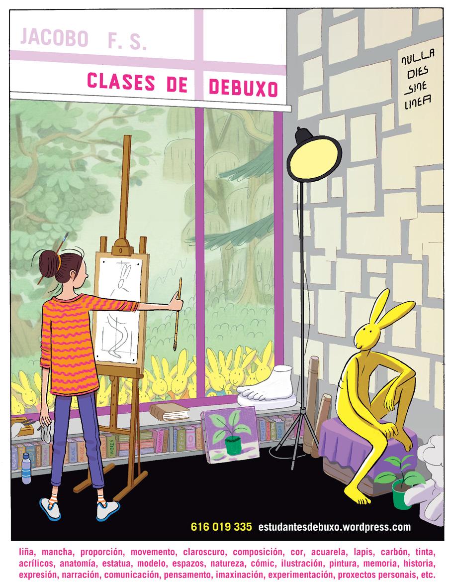 Clases rabits school of arts estudio