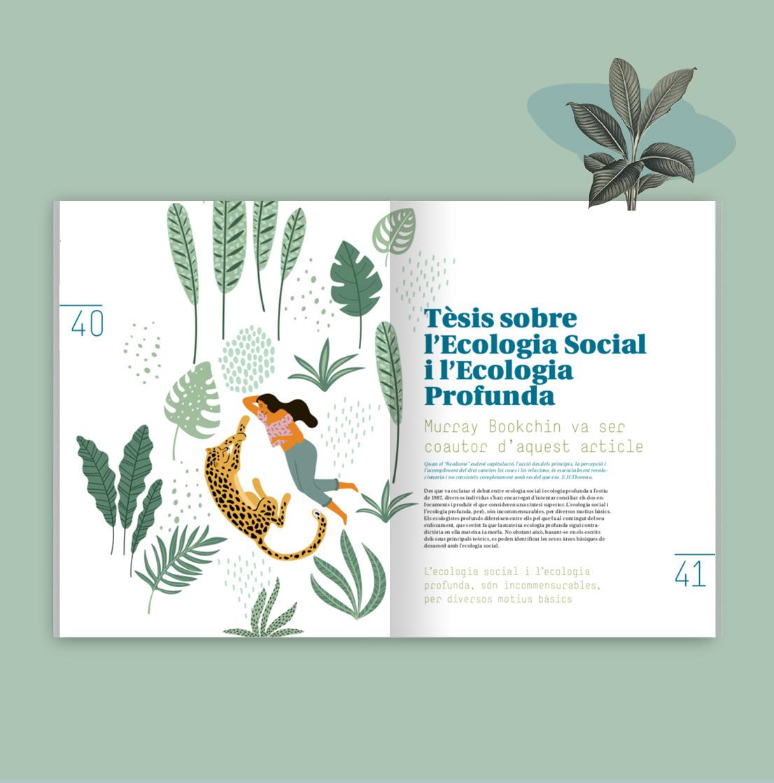 activismo Diseño editorial diseño gráfico fira de la terra ilustracion maquetación
