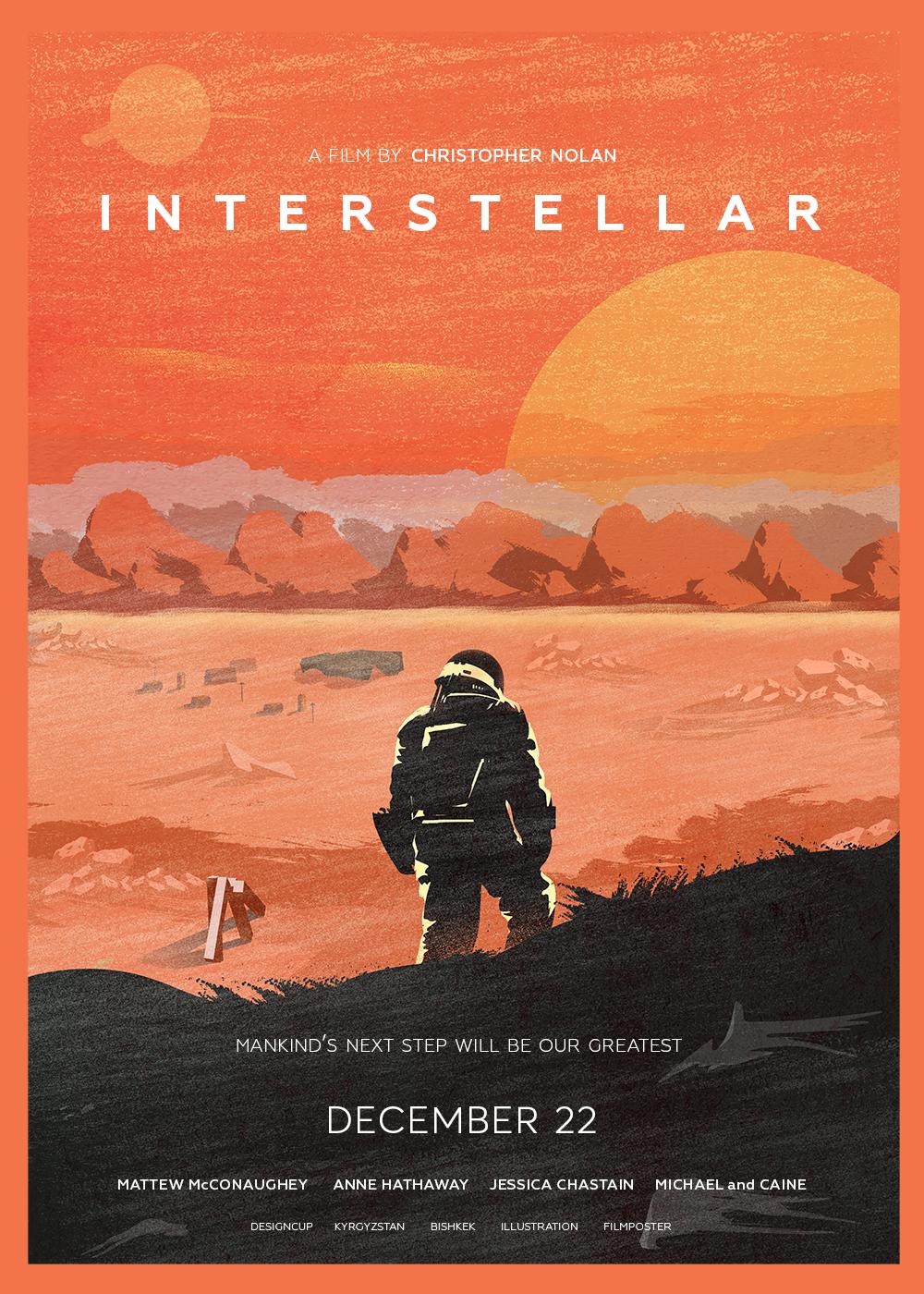 Interstellar Poster On Behance